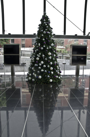 14ft decorated Christmas tree corporate custom event hire Melbourne