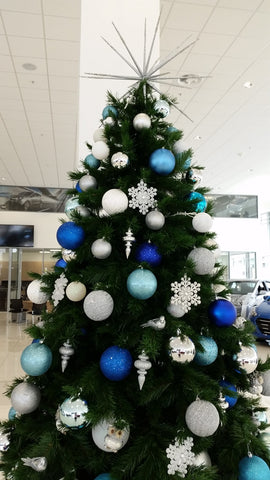 Artificial Christmas tree hire. Decorated Christmas tree hire Melbourne.