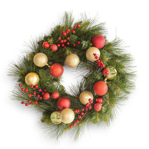 60cm Christmas Wreath - Hire