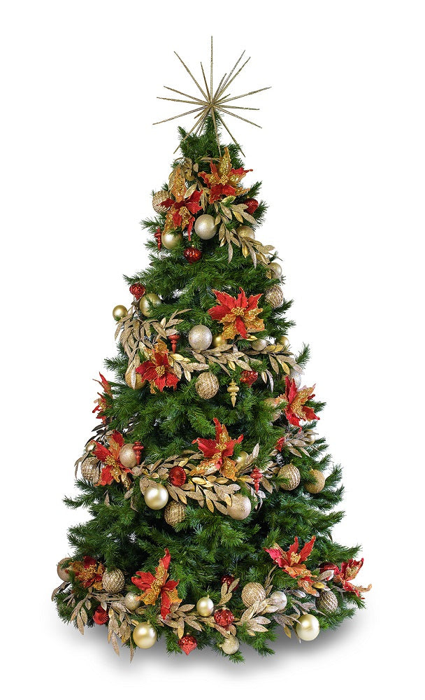 Designer decorated Christmas tree hire Melbourne