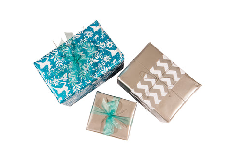 'Winter Wonderland' Christmas Gift Wrapping