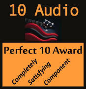 Perfect 10 Award from 10Audio.com