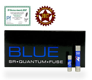 Synergistic Research BLUE Quantum Fuses received StereoTimes' Most Wanted Component 2017 Award