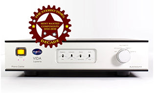 Aurorasound VIDA Supreme Phono Stage - StereoTimes Most Wanted Award