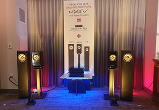 Voxativ Absolut System US debut at the AXPONA 2019