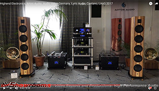 Audio Valve and ARTOS Audio at the Los Angeles Audio Show 2017