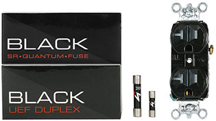Synergistic Research BLACK fuses and BLACK UEF duplex