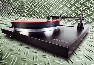 Holbo Airbearing Turntable tested by the LP Magazine