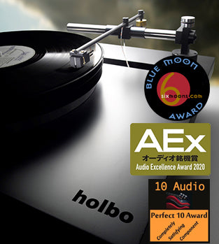 Holbo Airbearing Turntable System - 10Audio's Perfect 10 Award