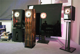 Voxativ speakers at the Highend in Munich