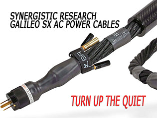 Synergistic Research Galileo SX Power Cable review on The StereoTimes