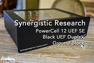 Synergistic Research PowerCell, Grounding Block and Black UEF Duplex review on Part-Time Audiophile