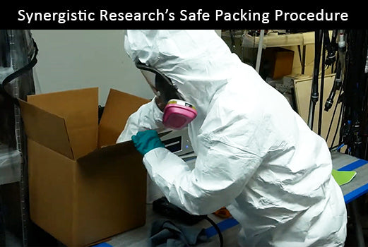 Synergistic Research's Safe Packing Procedure