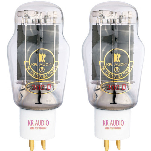 KR Audio 300B HP Tubes