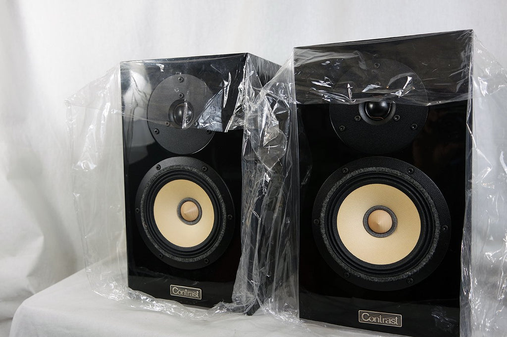 Contrast Audio Model One AS3 Reference Speakers - showroom demo