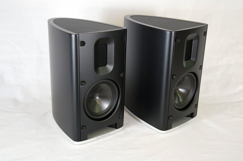 Scansonic MB1 B Stand-mount Mini Monitor - demo pair