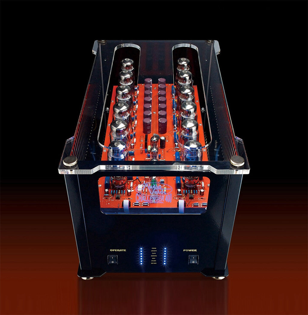 Audio Valve Challenger 400 Mono-Block Amplifiers