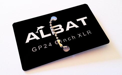 Albat GP.24 Cinch / XLR Card