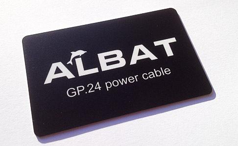 Albat GP.24 Power Cable Card