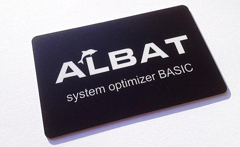Albat System Optimizer Card BASIC