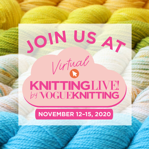 Kintting LIve by Vouge knitting