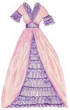 FREE Grandmas Paper Doll - 1 Doll with 3 Outfits Group 1- PDF Download