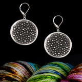 Sterling Silver Demi-Sec Big Wave Earrings