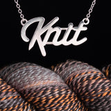 """Knit"" Lover Necklace Grande Version"