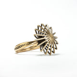 Bronze Comic Spirit Star Ring