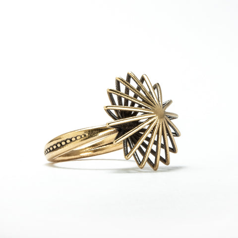 Porterness Studio Bronze Comic Spirit Star Ring