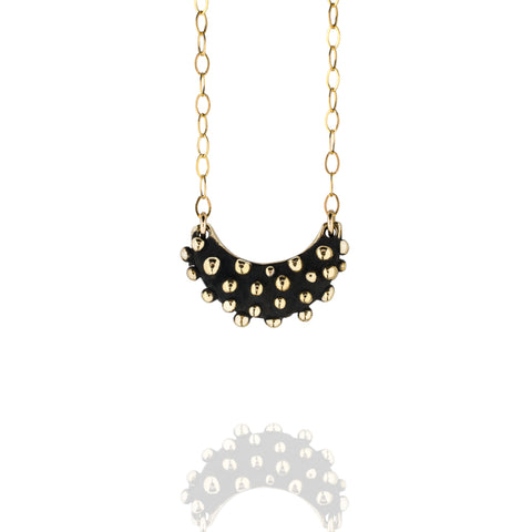 Bronze And Gold Demi-Sec Bubbles Necklace