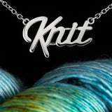 """Knit"" Lover Necklace"