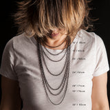 Porterness Studio Necklace Length Chart