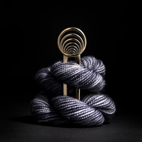 Porterness Studio Getting Into the Vortex Shawl Pin