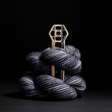 Porterness Studio Hexagon Shawl Pin Luxury Knitting Jewelry for the Contemporary Yarn Connoisseur