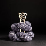 Porterness Bronze Crop Circles Shawl Pin For Knitters and Crocheters who love merino wool