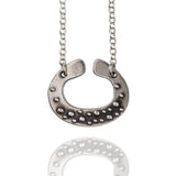 Porterness Studio Sterling Silver Tiny Bubbles Catcher Pendent
