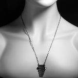 Porterness Studio Bronze Chuck and Ray Lounge Necklace