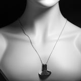 Porterness Studio Silver Demi-Sec Pour Necklace