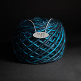 "Porterness Sterling Silver Double Sided ""Yarn Life"" Demi-Sec Necklace"