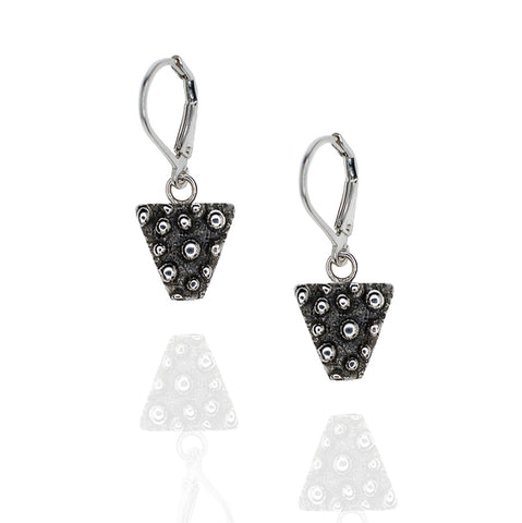 Porterness Studio Silver Demi-Sec Triangle Earrings