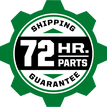 72hr Parts Guarantee
