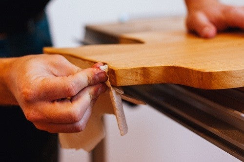 Cleaning Wooden Cutting Board
