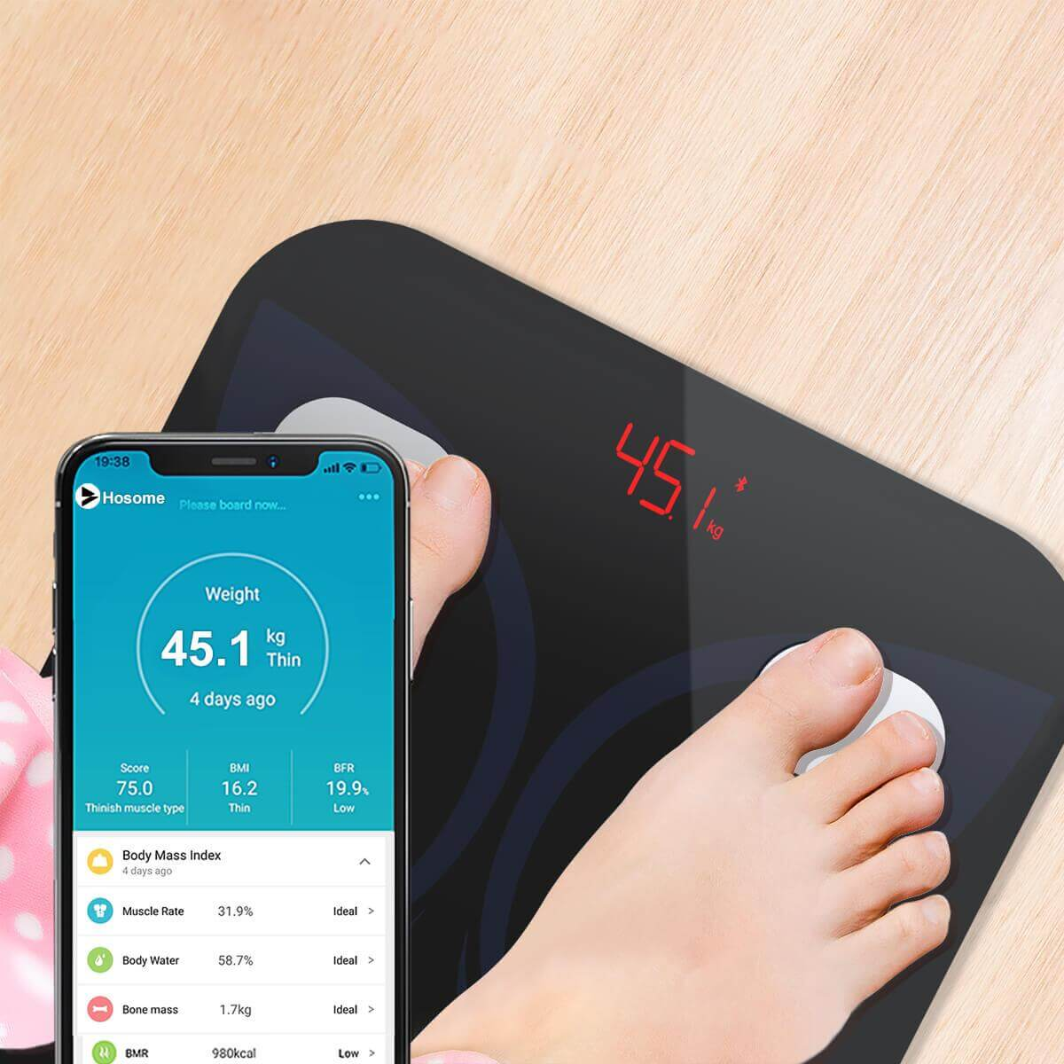 tracking your body dat