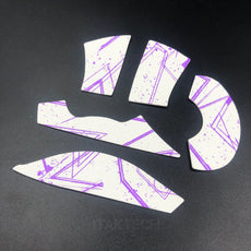 BT.L Razer Deathadder v2 Pro - Anti Slip Mouse Grip - White Purple