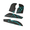 BT.L Endgame XM1 - Anti Slip Mouse Grip - Black Blue