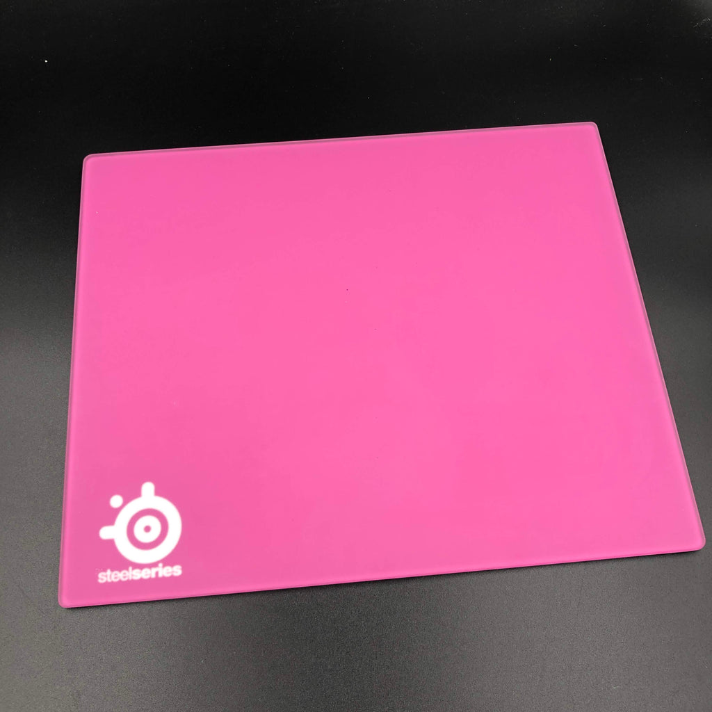 SteelSeries I-2 Glass Mouse Pad - Pink