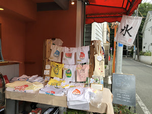 A pop-up store in tiny little hideout SPOONFUL, Maruta store (Koganei-city)