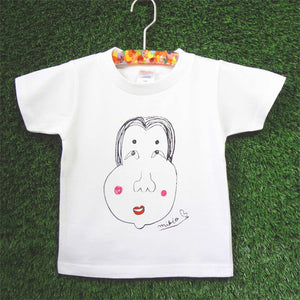 Okame Kid's T shirt White