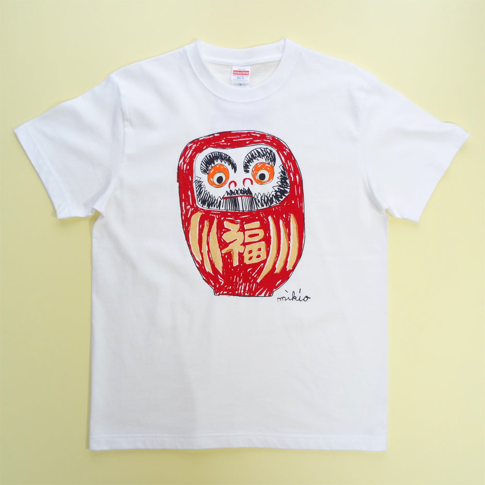Daruma Men's T shirt **Gold body
